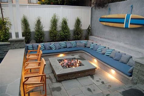outdoor sitting lighted outdoor sitting area and pit outdoor hardscapes