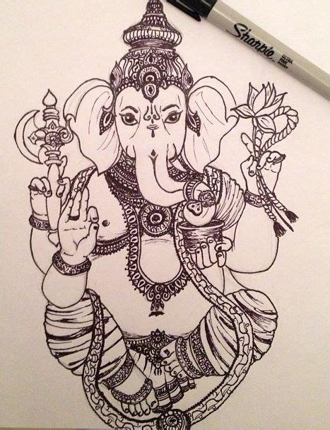 tattoo ganesha drawing ganesh drawing tattoo