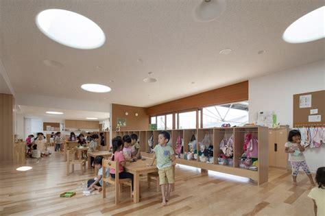 Garden City Nursery School Greenery Infused Nursery School In Japan Brings Children