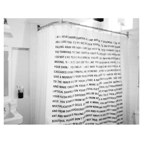 thinking of him curtains dave eggers shower curtain from curiosity shoppe shower