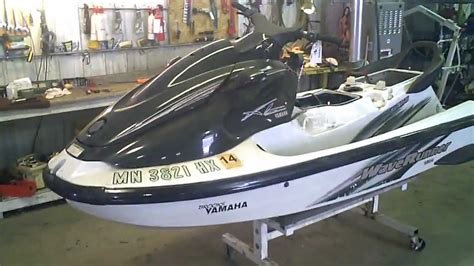Jet Sky Yamaha Waverunner Xl760 lot 1451a 1999 yamaha xl 760 waverunner running
