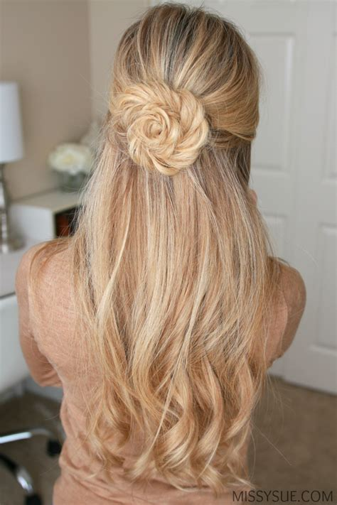 Hairstyles For Flower by Fishtail Braid Flower Sue