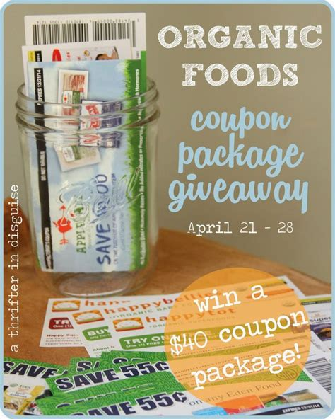 printable grocery coupons for organic foods 129 best giveaways win images on pinterest giveaways
