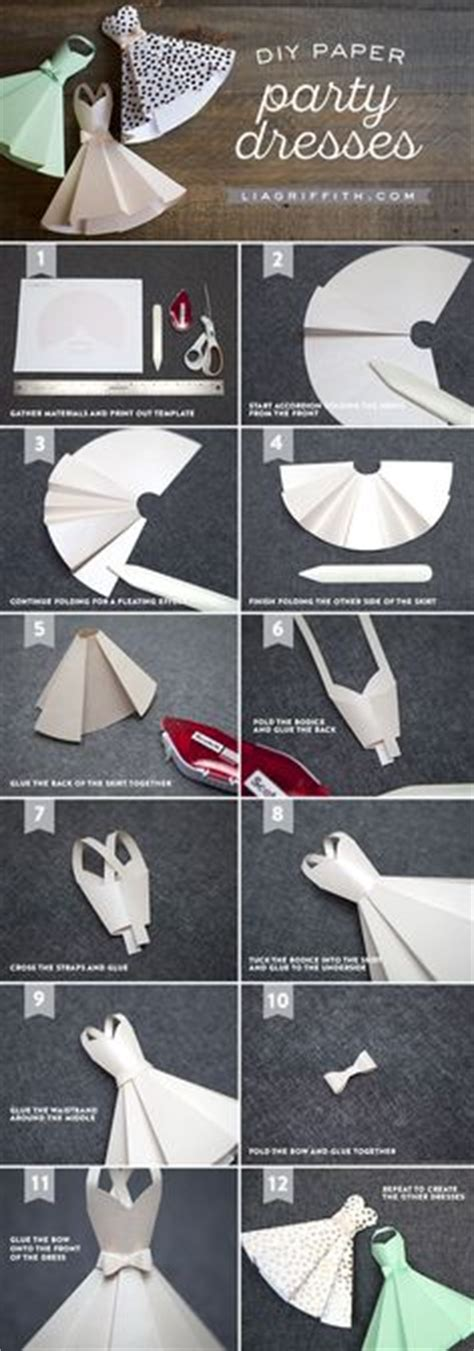 How To Make A Paper Dress To Wear - 1000 ideas about origami dress on paper