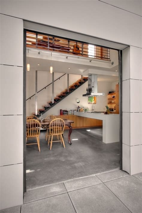 Industrial Flooring For Homes Phenomenal Stained Concrete Floors Pros And Cons