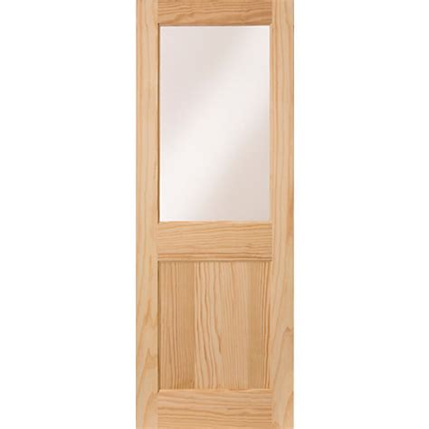 Wickes Front Door Wickes Tamar External Pine Door Glazed 1 Panel 2032x813mm Wickes Co Uk