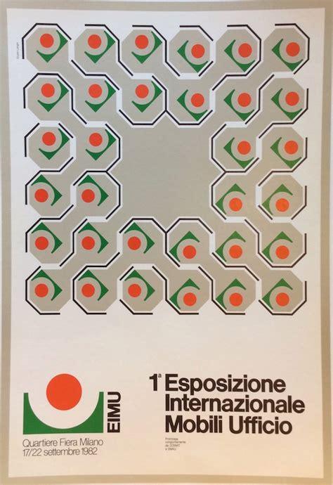 ufficio internazionale 1a esposizione internazionale mobili ufficio 1982