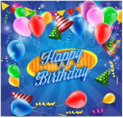 10 free vector psd birthday celebration greeting cards