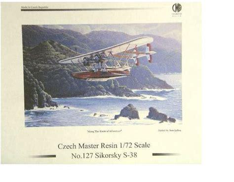 ark flying boat czech resin 1 72 model of sikorsky s 38 flying boat named