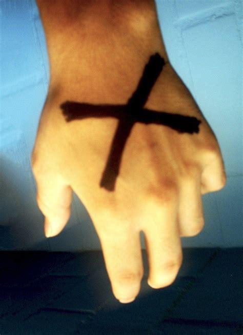 x tattoo meaning on hand straight edge x tattoo www imgkid com the image kid