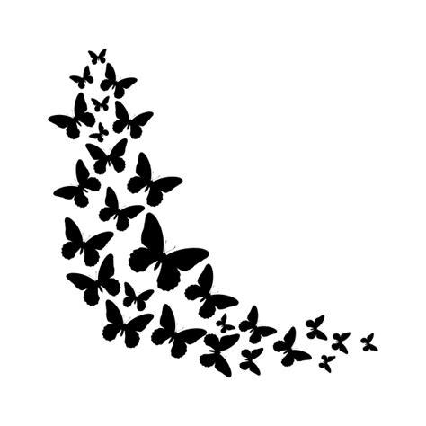 imagenes de mariposas en negro vinilo decorativo revoltijo de mariposas