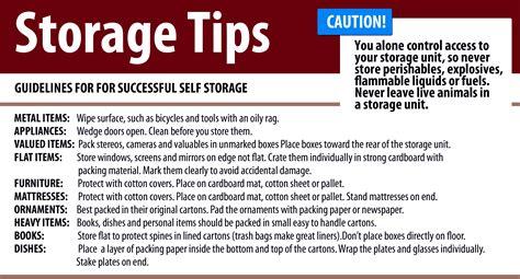 storage tips self storage tips best storage design 2017