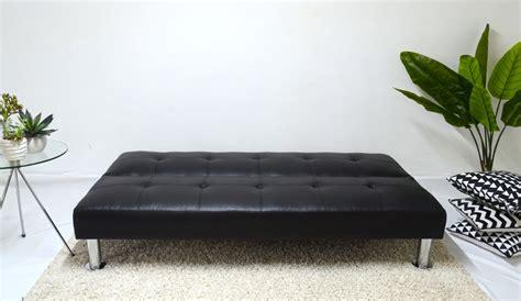 futon 3 cuerpos negro futon negro modelo napa sofa de 3 cuerpos cama de 1 plaza