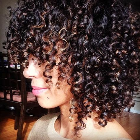 hairstyles for curly layered hair at the in between stage medium hairstyles for naturally curly hair