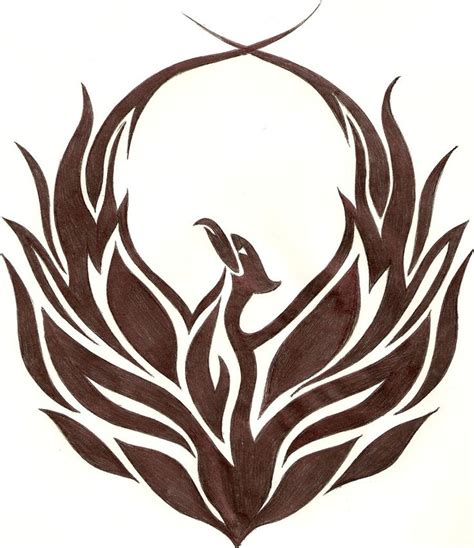 the gallery for gt tribal phoenix bird logos