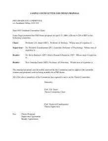 Request Letter Format For Phd Guide Cover Letter For Research Exle