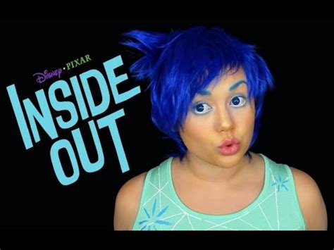 makeup tutorial joy inside out joy makeup tutorial disney s pixar cosplay