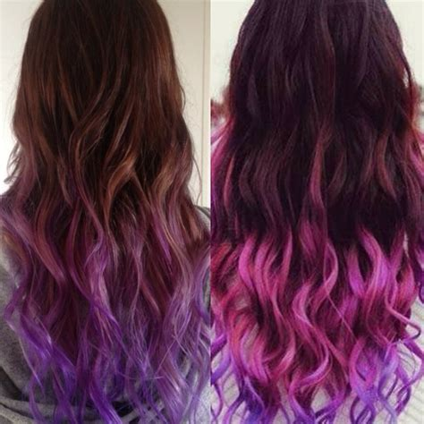 hair with colored tips how to go from hair to pastel color in one set of