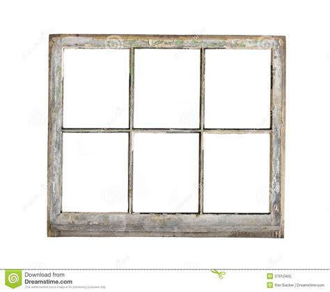 wood frame window isolated stock image image of