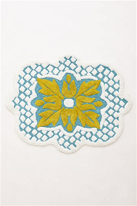 Anthropologie Bath Mat by Amarga Bath Mat Bath Mats By Anthropologie