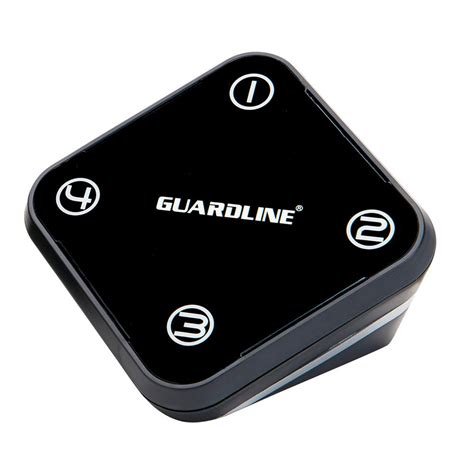 guardline receiver outdoor motion alert and driveway