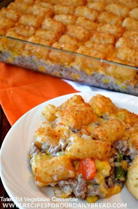 casserole recipes vegetables and for kids on pinterest