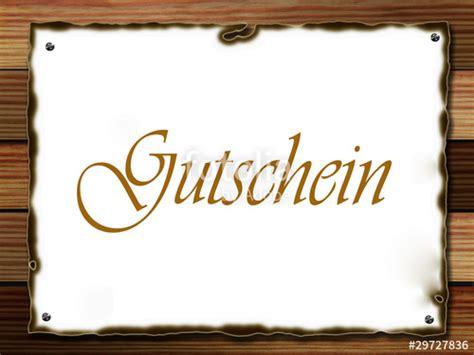 Word Vorlage Gutschein Essen Quot Gutschein Quot Stockfotos Und Lizenzfreie Bilder Auf Fotolia Bild 29727836