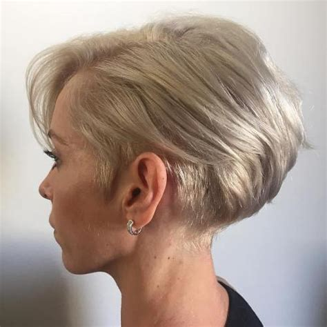 short bob haircut above the ear 100 mind blowing short hairstyles for fine hair