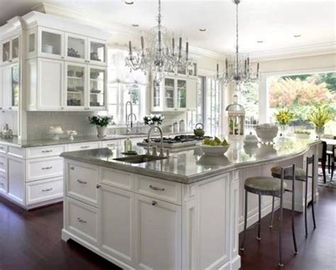 Kitchens Ideas With White Cabinets Painting Your Cabinets White