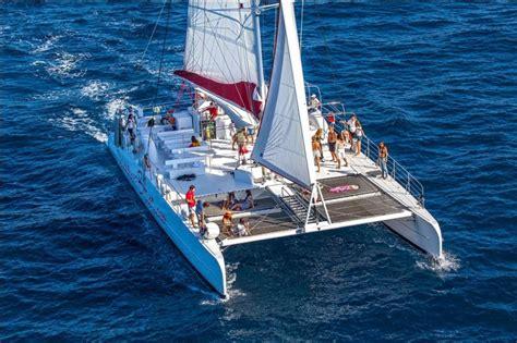 excursion catamaran dubrovnik excursion summer blues catamaran sailing