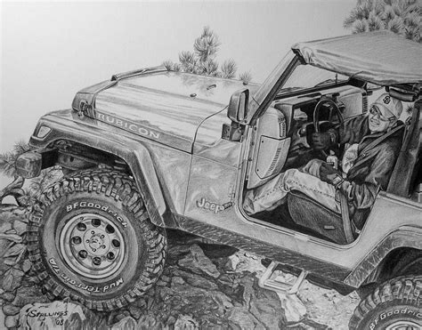 jeep drawing the gallery for gt jeep wrangler drawing