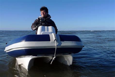 hydrofoil rib boat c fury a hydrofoiling rib boats