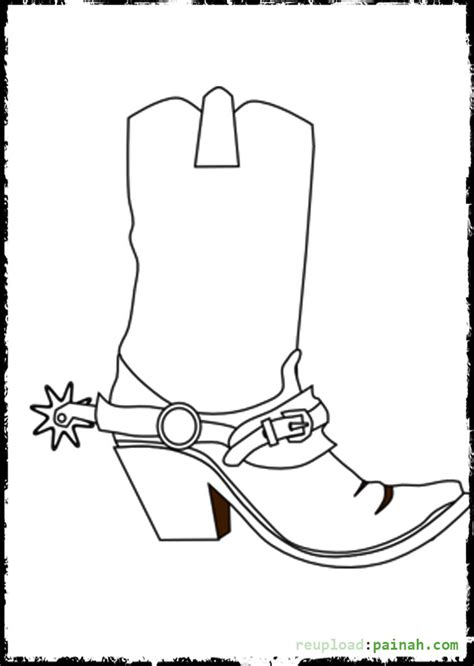 Cowboy Boots Coloring Pages Bestofcoloring Com Cowboys Coloring Pages To Print Printable