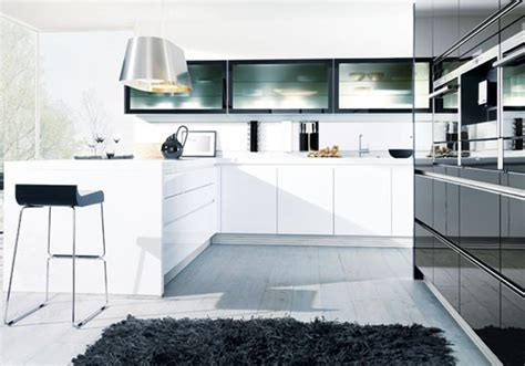 German Designer Kitchens german kitchens by design classic schuller monochrome