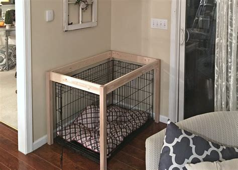 how to kennel a puppy diy crate hack