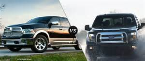 Ford Dodge Ram 2015 Dodge Ram 1500 Vs 2015 Ford F 150