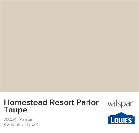 homestead resort taupe home