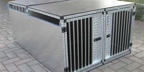 gabbie trasporto cani in alluminio valli s r l gabbie