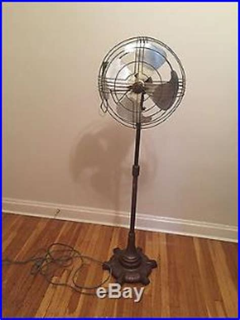 vintage look pedestal fan antique general electric vortalex 18 pedestal oscillating