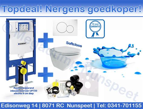 wandcloset set geberit inbouwreservoir duofix up100 up320 up720 quot inbouw