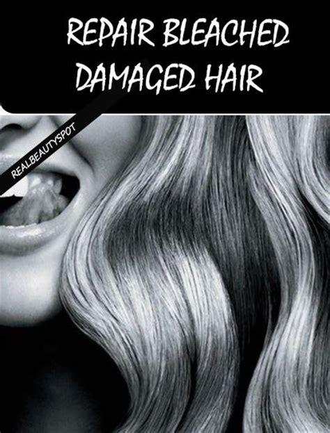 treatment for bleached hair natural treatments to repair bleached damaged hair