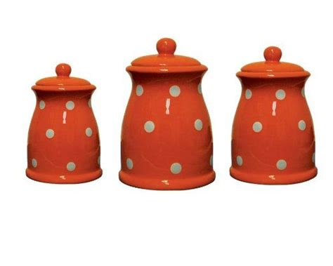 orange kitchen canisters pin by becky goff on coral apricot palette play