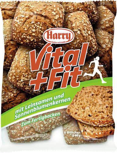Harry Fit harry fit und vital aufbackbr 246 tchen 6 st 252 ck