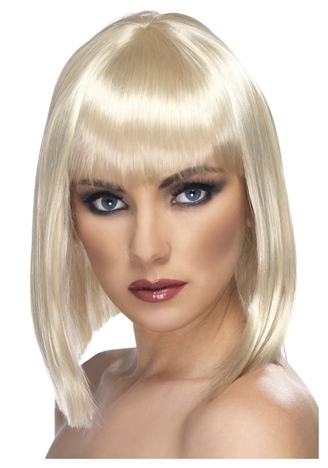 Military Home Decorations blonde glam wig