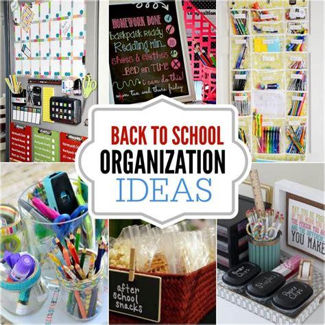 diy   school organization ideas  diy