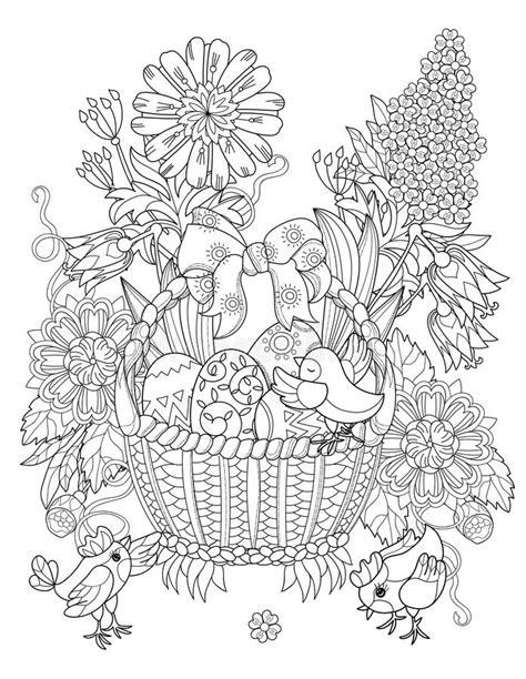 doodle draw easter нарисованные рукой пасхальные яйца плана doodle в корзине