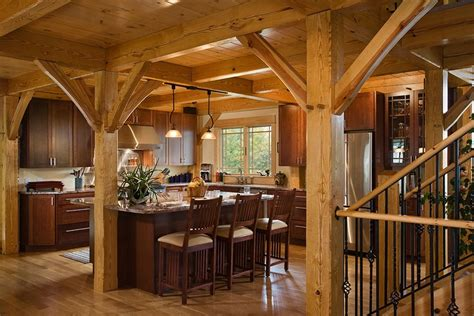 timber frame home plans woodhouse the timber frame company woodhouse post and beam kitchens