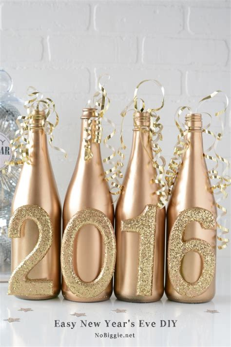 diy decorations for new year new years ideas