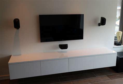 wand kast 65 cm monteren en ophangen van zwevend tv meubel werkspot