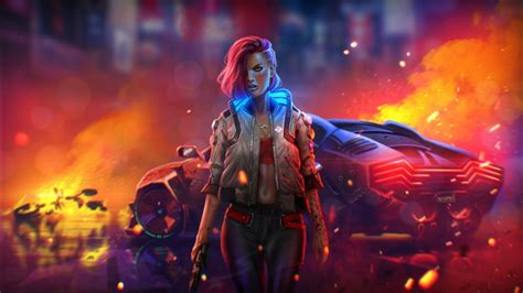 cyborg digital fan art games  hd cyberpunk